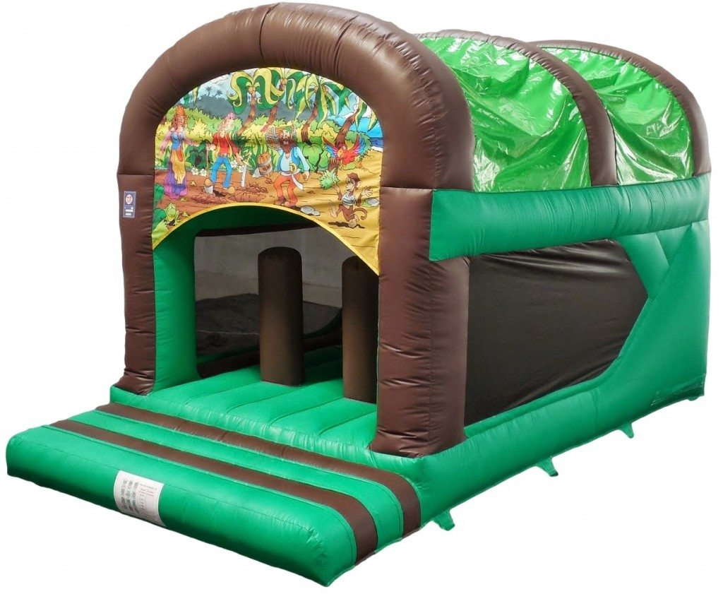 Pirate Rear Slide Combo Bouncy Castle