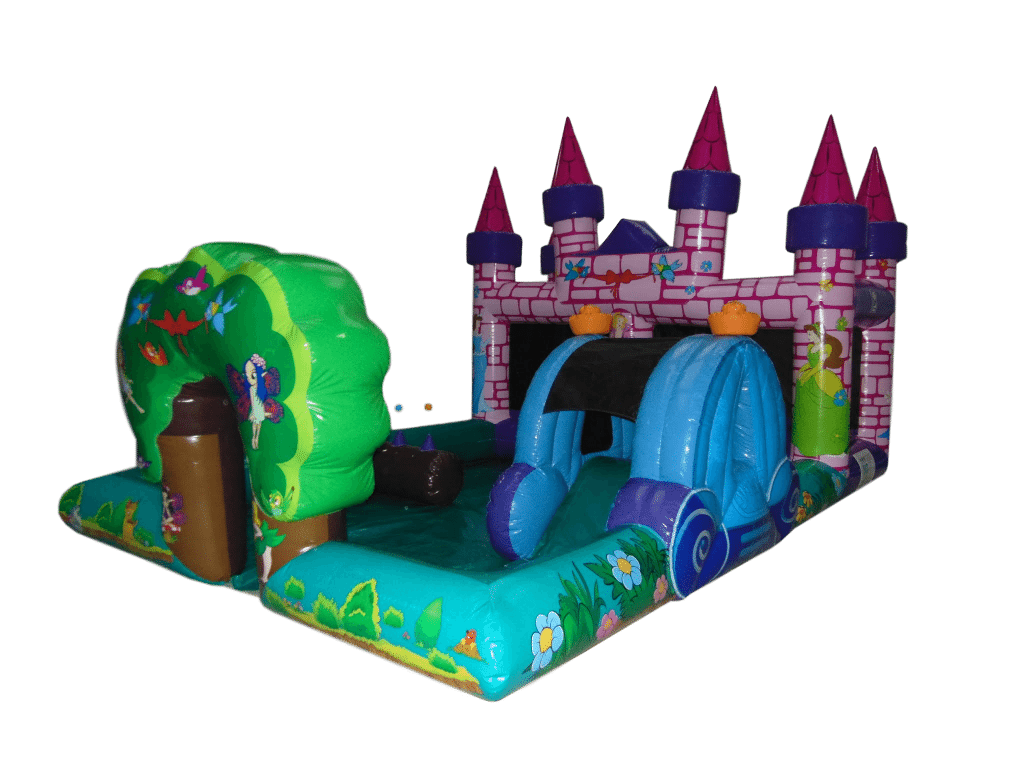 Princess Playzone Toddler Bouncy Castle