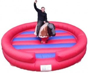Rodeo Bull Hire round bed