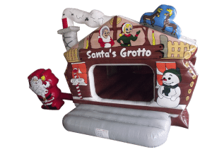 Grotto Bouncy Castle Hire, festive bouncy castle