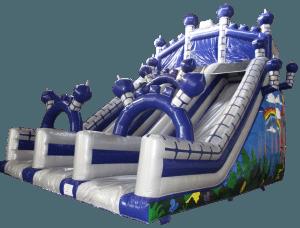 Castle Mega Slide Silver