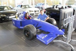 F1 race car simulator hire
