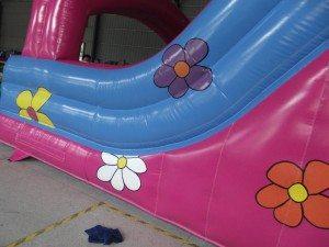 Princess 15ft platform slide