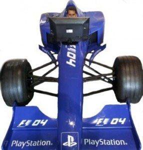 F1 car simulator hire
