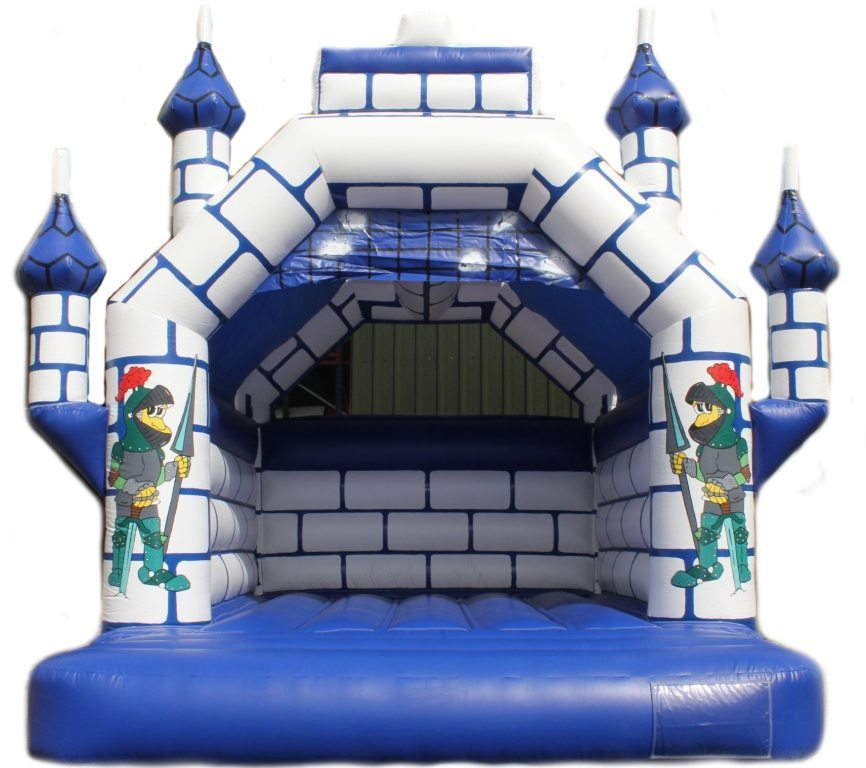 knights_jesters 5m x 5m Adult Rated Bouncy castle