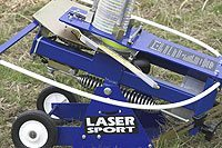 Laser Clay Pigeon Shooting Trap