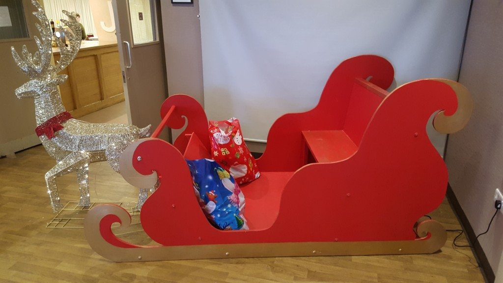 Santas Sleigh hire