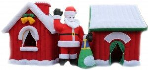 Santa's grotto inflatable