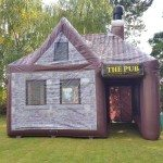 Inflatable pub hire