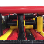 AAA1385 Knockout Part II Black red yellow-1