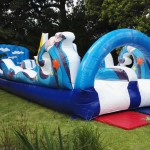 AAA1388 twin lane water slide